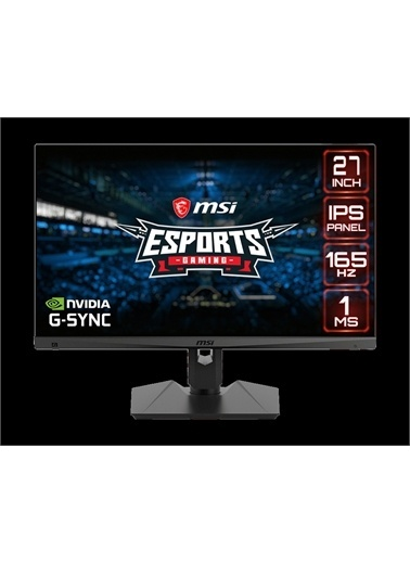 MSI MSI OPTIX MAG274R2 27 FHD IPS 165Hz 1ms G-Sync Compatible Flat Gaming Monitör Renkli